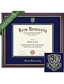 Drew University 8'' x 10'' Windsor Diploma Frame