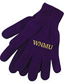 Western New Mexico University Knit Gloves