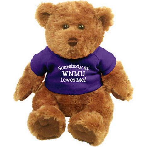 Product: 'Somebody At WNMU Loves Me!' Plush Bear