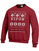 Ripon College Ugly Sweater Crewneck Sweatshirt
