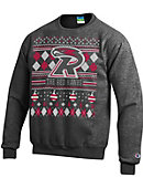 Ripon College Redhawks Ugly Sweater Crewneck Sweatshirt