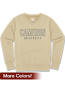 Cameron University Women's Long Sleeve V-Neck Fleece