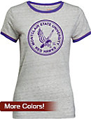 Montclair State University Women's Athletic Fit Ringer Short Sleeve T-Shirt