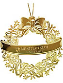 Montclair State University Wreath Ornament