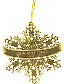 Montclair State University Snowflake Ornament