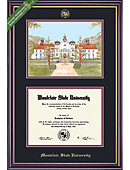Montclair State University 8'' x 10'' Windsor Diploma Frame with Lithograph