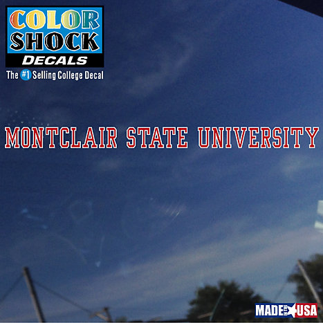 Product: Montclair State University Strip Decal