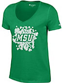 Montclair State University Women's V-Neck T-Shirt
