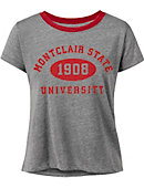 Montclair State University Women's Cropped Short Sleeve T-Shirt
