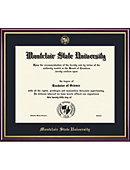 Montclair State University 8'' x 10'' Value Price Academic Diploma Frame