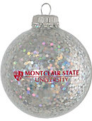 Montclair State University Sparkle Ornament Ball