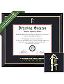 California University of Pennsylvania 8.5'' x 11'' Prestige Diploma Frame