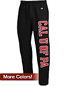 California University of Pennsylvania Open Bottom Sweatpants