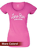 Lone Star College Women's Scoopneck T-Shirt