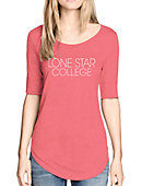 Lone Star College Women's 3/4 Length Sleeve