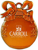 Carroll University Ornament