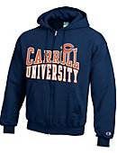 Carroll University Pioneers Full-Zip Hooded Sweatshirt