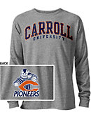 Carroll University Pioneers Long Sleeve Victory Falls T-Shirt