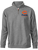 Carroll University Pioneers Tri-Blend 1/4 Zip Fleece Pullover