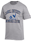 Carroll University Swimming & Diving T-Shirt