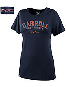 Carroll University Pioneers Women's Mom Relaxed Fit Short Sleeve T-Shirt
