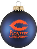 Carroll University Pioneers Ornament Ball