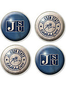 Jackson State University Tigers Fridge Magnet 4-Count