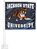 Jackson State University Tigers Car Flag