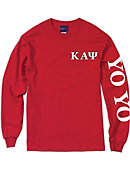 Jackson State University Kappa Alpha Psi Long Sleeve T-Shirt