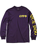 Jackson State University Omega Psi Phi Long Sleeve T-Shirt