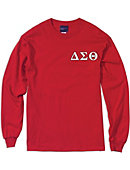 Jackson State University Delta Sigma Theta Long Sleeve T-Shirt