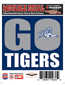 Jackson State University Go Tigers 5'' x 6'' Moveable Decal