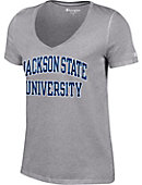 Jackson State University Women's V-Neck T-Shirt