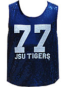 Jackson State University Women's Slim Fit Sequin Tank Top