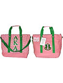 Jackson State University Greek Canvas Bag