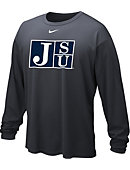 Nike Jackson State University Tigers Dri-Fit Long Sleeve T-Shirt
