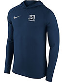 Nike Jackson State University Tigers Long Sleeve Hooded Sweatshirt