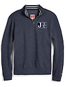 Jackson State University 1/4 Zip Tri-Blend Pullover