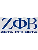 Jackson State University 'Zeta Phi Beta' Decal