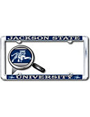 Jackson State University Thin Dome License Plate Frame