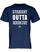 Jackson State University Tigers Straight Outta T-Shirt 3XL