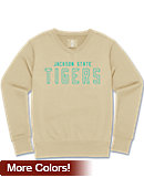 Jackson State University Tigers Women's Long Sleeve V-Neck Fleece