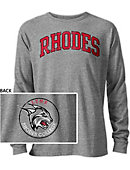 Rhodes College Lynx Long Sleeve Victory Falls T-Shirt
