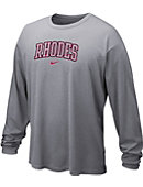 Nike Rhodes College Dri-Fit Long Sleeve T-Shirt