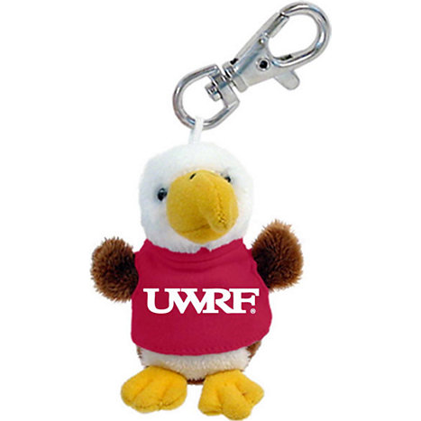 Product: University of Wisconsin - River Falls Plush Keychain