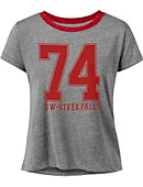 University of Wisconsin - River Falls Women's Cropped Short Sleeve T-Shirt