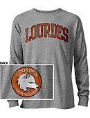 Lourdes University Gray Wolves Long Sleeve Victory Falls T-Shirt