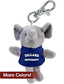 Dillard University Plush Keychain