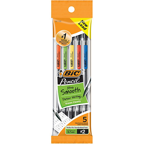 Product: Mechanical Pencil .7mm 5Pk BIC