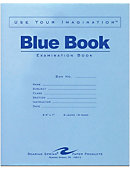 Blue Book 8.5x7' 8 Sheet/16 Page